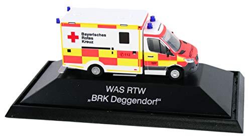 Rietze 76213 - was RTW ´18 BRK Deggendorf - 1:87 - Einsatzserie