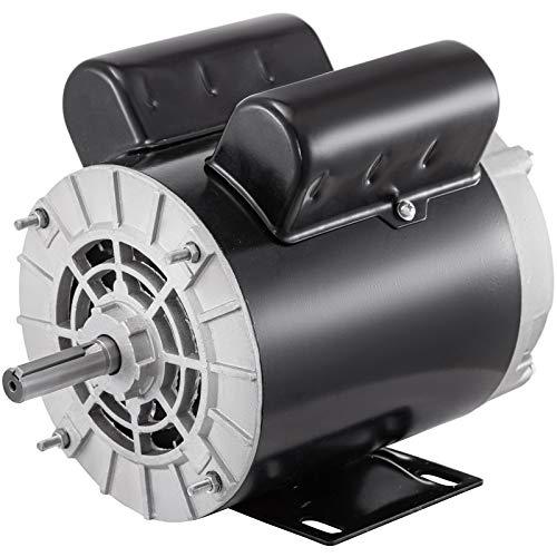 VEVOR Air Compressor Motor, 2Hp 3450RPM Electric Compressor Motor 115V 230V 56 Frame Single Phase Electric Motor for Air Compressor