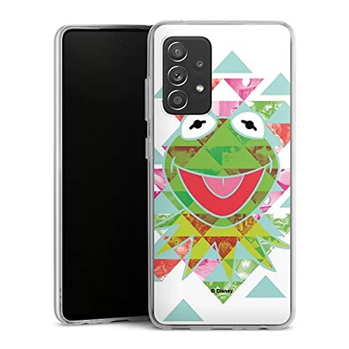 DeinDesign Silikon Hülle kompatibel mit Samsung Galaxy A52s 5G Hülle transparent Handyhülle Disney Muppets Frosch