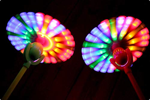 Classic Line LED Party-Rotor Wirbler Farbe �ot