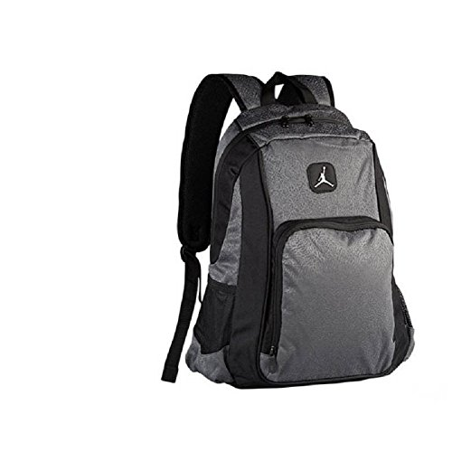 Nike Air Jordan Jumpman Backpack Dark Grey Elephant Laptop Tablet Gym Bag
