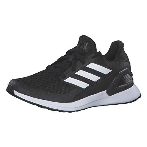 adidas RapidaRun J Laufschuhe, Unisex, für Kinder, Schwarz/Weiß - Größe: 40 EU