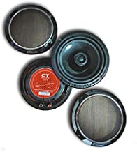 "CT Sounds 6.5 Inch Coaxial Car Speaker Set, 4 Ohm Impedance, 75W (RMS) | 150W (MAX) Power Per Per Speaker, 1.4"" Voice Coil, 19mm Silk Dome Tweeter Attached – Strato 6.5 Coax"