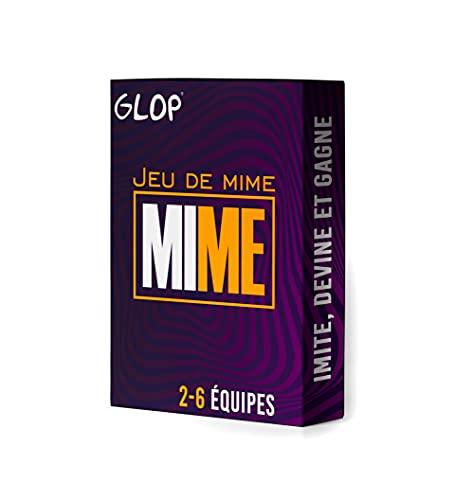 Glop Mime - Jeu de Mime - Jeux de Société Adulte pour Apéro
