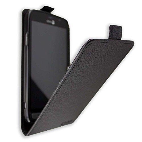 caseroxx Flip Cover für Doro Liberto 824/825, Tasche (Flip Cover in schwarz)