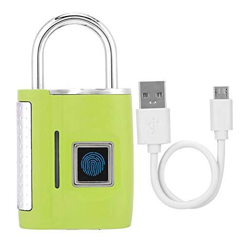 Eosnow TSA Customs Lock, TSA Lock Desbloqueo rápido con Material de aleación de Zinc y diseño liviano y Compacto para Bloquear The Secret Guard The Door(Green)