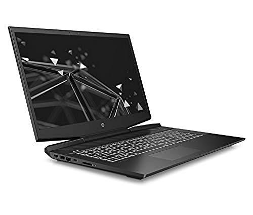 HP Pavilion 17-cd1007na 17.3 Inch Full HD Gaming Laptop - (Shadow Black) (Intel Core i5-10300H, NVIDIA GeForce GTX 1650 Ti (4 GB Dedicated) Graphics, 8 GB RAM, 512 GB SSD, 1 TB HDD, Windows 10 Home)