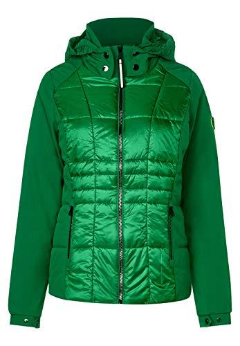 CECIL Damen 201366 Jacke, Grün (juicy green 11739), Large (Herstellergröße:L)