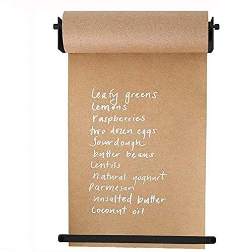 Distribuidor De Pared Creativo Con Rol De Notas Kraft Papel - Studio Roller Paper Wall Decor - Concepto De Oficina - Papeles De Colgantes De Pared - Alternativa Innovadora A Whiteboard Vipoo,67cm