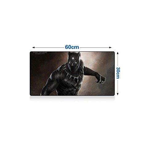Black Panther Large Mouse Pad Keyboard Mat Gaming Desk Mat Table Mat 1223'
