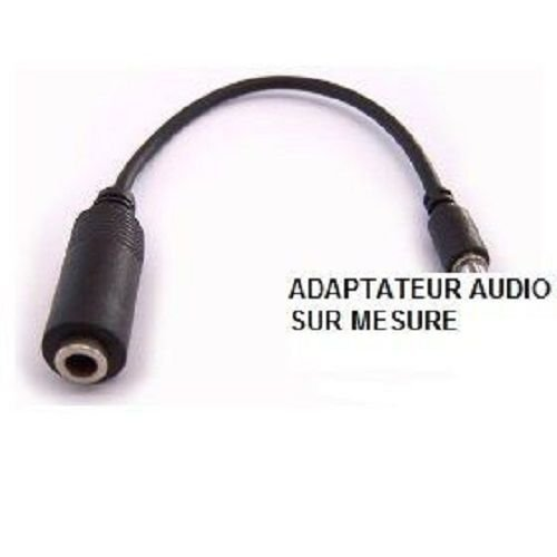OZZZO ADAPTER CABLE AUDIO JACK With IN 3.5mm and OUT FOR HTC DESIRE VC