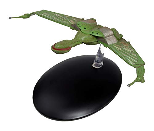 Filmwelt Shop Klingon Bird of Prey Eaglemoss Collection Modell - Star Trek die Offizielle Sammlung: Ausgabe #4 mit deutschem Magazin