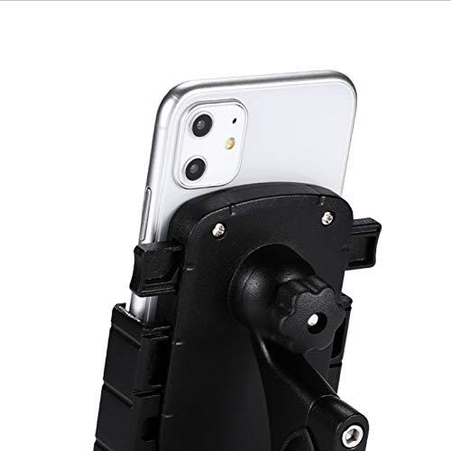Soporte para teléfono para Bicicleta, Soporte para teléfono Inteligente para Bicicleta de Motocicleta Soporte para teléfono Celular con Manillar, Soporte la mayoría de Soportes móviles