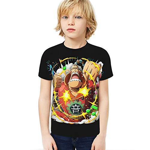 FXNOW Camiseta de manga corta para niño Scratchmen Apoo O-N-E-Piece