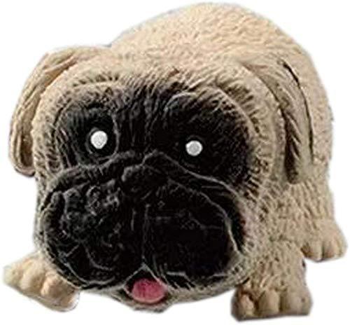 Descomprima juguetes Perro de descompresión Amase el juguete Pug tanto como sea posible para aliviar la presión y la ventilación Rebote lento Juguete de descompresión duradero Trastorno de ansiedad pa
