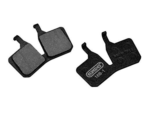 Elvedes Magura MT5/7 Unisex Adult MTB/E-Bike/Mountain Bike/Road Brake Pads, Black, Standard