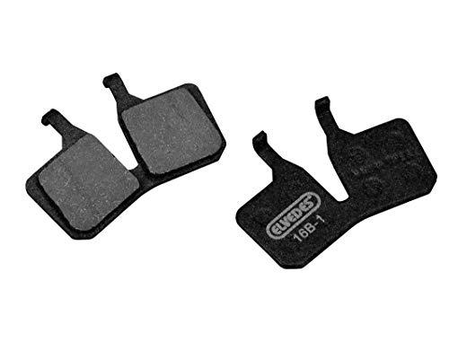 ELVEDES Magura MT5/7 Pastillas de Freno para Ciclista, MTB/E-Bike/VTT/Carretera Adulto, Unisex, Color Negro, estándar