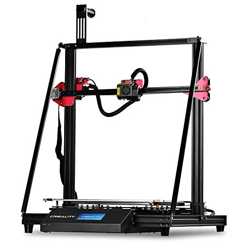 SainSmart x Creality CR-10 MAX 3D Printer with Stability Triangle Frame, Auto-Leveling, Resume Printing, Bondtech Extruder Dual Gears, Large Build Volume 450 x 450 x 470 mm