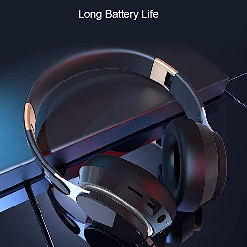 XFF Gaming Headset Kabel Rauschunterdrückung Stereo Subwoofer Mikrofon Ohrhaken Headsety Geeignet PC Smartphone Laptop Headset Arbeit