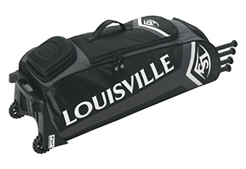 Louisville Slugger EB Series 7 Rig Baseball Equipment Bags, Black