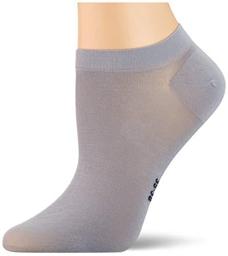 FALKE Damen Fine Softness W SN Socken, Grau (Silver 3290), 39-42 (UK 5.5-8 Ι US 8-10.5)