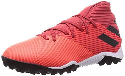 adidas Nemeziz 19.3 TF, Zapatillas de fútbol para Hombre, CORSEN/NEGBÁS/ROJGLO, 48 EU
