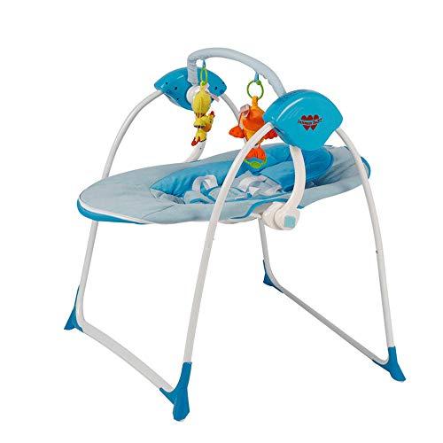 YAOUFBZ Mecedora para bebés para persuadir el artefacto del sueño Cama Cuna eléctrica Inteligente para bebés Silla de Confort Multifuncional para bebés