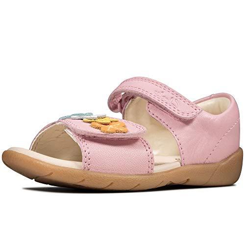 Clarks Mädchen Zora Finch T Geschlossene Sandalenn, Pink (Dusty Pink Dusty Pink), 22.5 EU