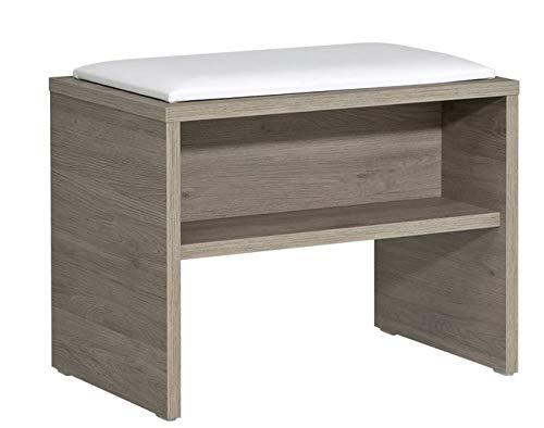 PELIPAL Neutrale Möbel Sitzbank/EM-SB 01 / B: 60 cm
