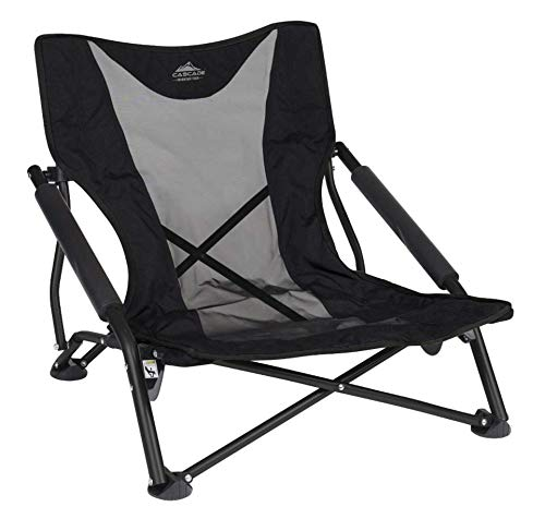 Cascade Mountain Tech Compact Low Profile Outdoor Folding C& Chair with Carry Case  sc 1 st  Amazon.com & Chairs for Outdoor Concerts: Amazon.com