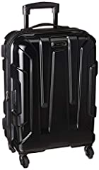 """20"""" Spinner Luggage maximizes your Packing power and meets most carry on size restrictions for those traveling domestically and looking to stay Light Packing Dimensions: 19.6"""" x 14.75"""" x 9.5"""" Overall Dimensions: 22.5"""" x 15.5"""" x 9.5"""" Weight: 7.5 Pound..."""
