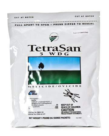 Tetrasan 5WDG Miticide - 1 pound (Packaged as 8x2 ounce pkgs)