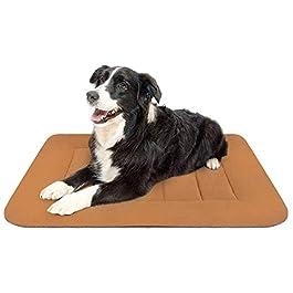 Hero Dog Large Dog Bed Crate Pad Mat 35/42/47 Inch Washable Matteress Anti Slip Cushion for Pets Sleeping