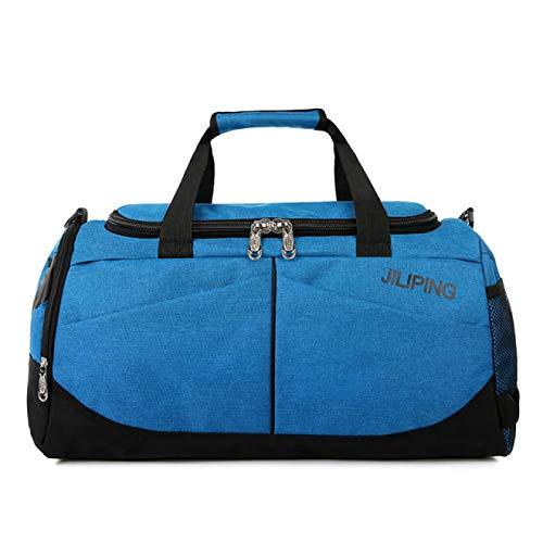 SIMEISM Unisex hombres bolsa de viaje impermeable masculino bolsas moda bolso de lona para hombre grande equipaje bolsa de negocios gimnasio yoga bolsas