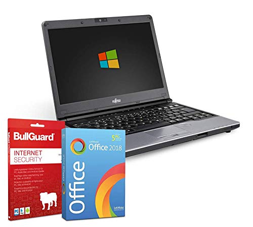 13,3 zoll | Fujitsu LifeBook S762 | Intel Core i5-3320M@ 2,6GHz | 4GB | 320GB HDD | DVD-Brenner | Windows 10 Pro | BullGuard | SoftMaker Office (Generalüberholt)