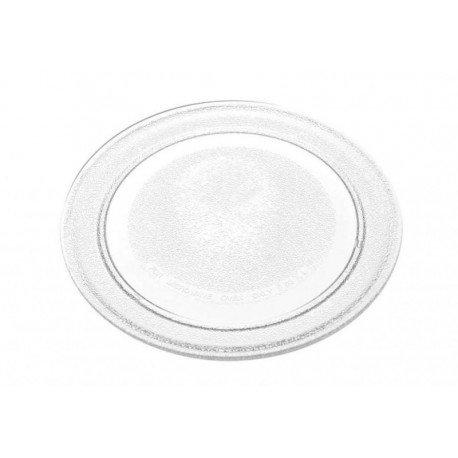 Plato de cristal giratorio para horno microondas Candy Hoover Zerow, original 49018556