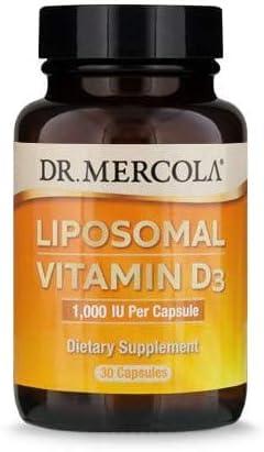 Dr. Mercola Liposomal Vitamin D Capsules Ounce 1000 0.5 online shop Popularity IU