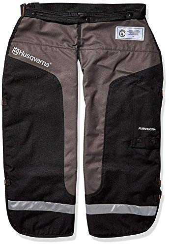 Husqvarna 587160702 Chain Saw Chaps Protective Functional Leg Wear (1-Unit)
