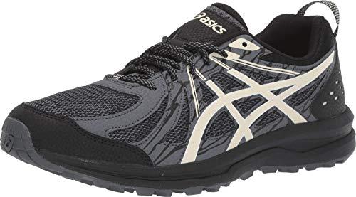 ASICS Men's Frequent Trail Running Shoes, 12M, Black/Birch