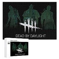 Dead By Daylight DBD Killers 300ピースジグソーパズル木製パズル 子供 グッズ 初心者向け ギフト 人気 減圧知育玩具大人 耐久性 高級印刷 無毒 無臭 無害 難易度調整可能 プレゼント