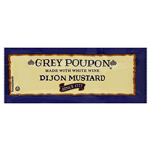 Grey Poupon Dijon Mustard (0.25oz Packets, Pack of 200)