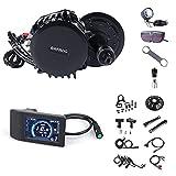 BAFANG BBS02B 750W 48V Ebike Motor with LCD Display 500C T44 Chainring Mid Drive Electric Bike Conversion Kits