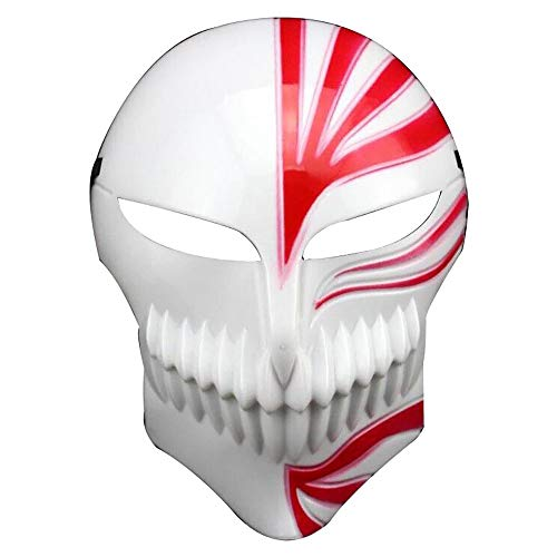 Anime Bleach Ichigo Kurosaki Cosplay Maske Halloween Karneval Party Cosplay Outfit