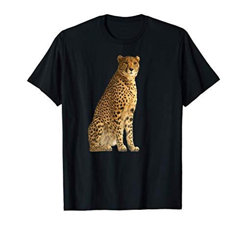 チーター 猛禽類 アフリカ 猫 荒野 イラスト Tシャツ