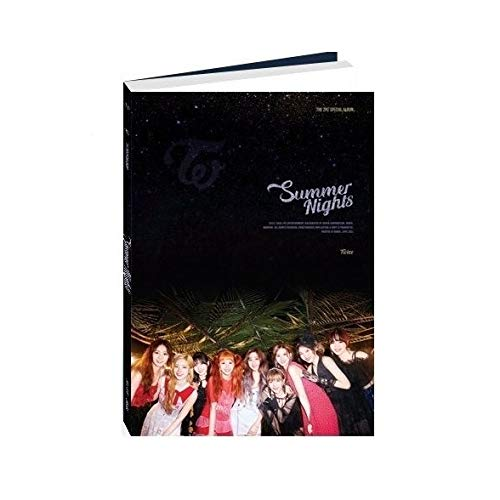 JYP Entertainment Twice - Summer Nights [C ver.] (2nd Special Album) CD+Photobook+Official Photocards+Folded Poster+5 Double Side Extra Photocards
