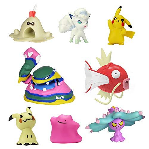 Bizak Pokemon Pack de 8 Figuras (63225320)