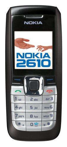 Nokia 2610 - Teléfono Móvil Libre - Negro