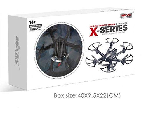 ncc MJX RC Hexacopter x800fpv con liveueb ertragung con Gravity Control Mode, 2.4GHz 6assi Gyro salto e funzione Headless Mode