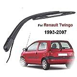 MISDHKit de Bras de Balai d'essuie-Glace arrière 12', pour Renault Twingo MK1 1993-2007, Lunette arrière de Pare-Brise