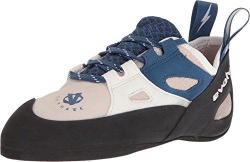 Evolv Skyhawk Climbing Shoe - Women's White/Blue 6.5